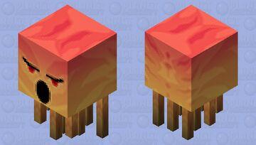 Ghast me enoja de Facebook (2) Minecraft Mob Skin
