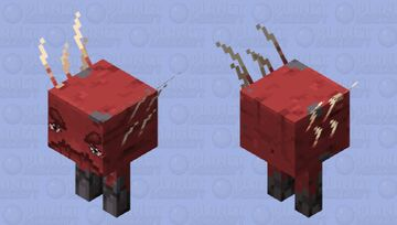 Strider but amazing actually Minecraft Mob Skin