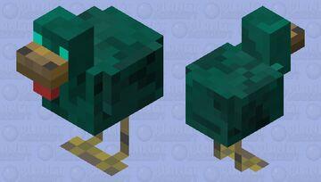 Zombie Chicken Minecraft Mob Skin