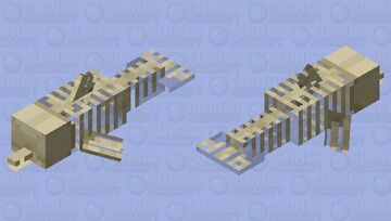 Bakekujira Minecraft Mob Skin