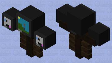 Gaming set-up Minecraft Mob Skin