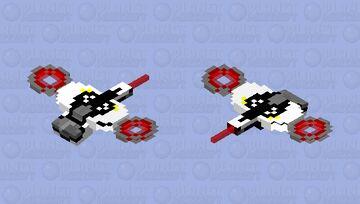 Dr. Robotnik's ship (Sonic The Hedgehog 2020) Minecraft Mob Skin