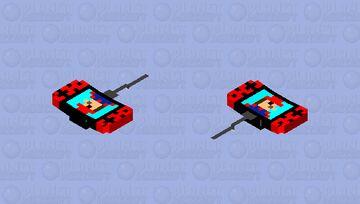 charging nintendo switch Minecraft Mob Skin