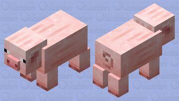 Coterie Craft Pig Minecraft Mob Skin