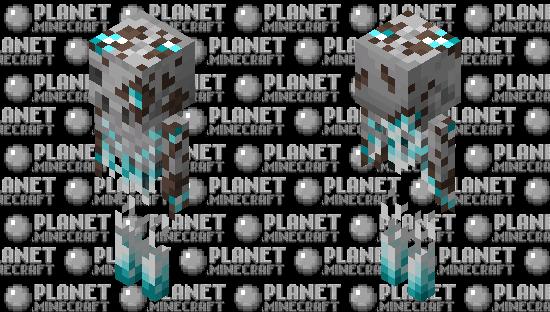 Piglin bone under the sand Minecraft Skin