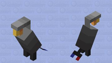 Parrot: Office Lamp Minecraft Mob Skin
