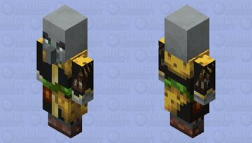 jungle evoker lives in the jungle and thrives in the jungle and dies in the jungle Minecraft Mob Skin