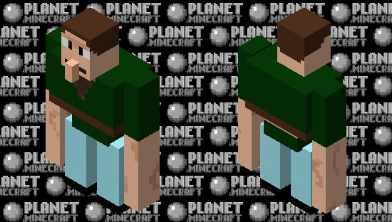 Beefy Jerry Smith Minecraft Skin