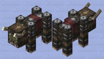 Nightmare Ravager Minecraft Mob Skin