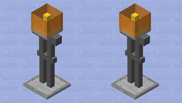 modern lamp Minecraft Mob Skin