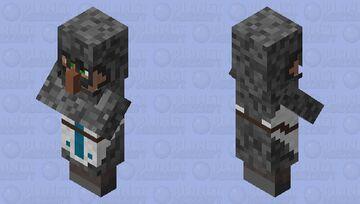 (Medieval) Knight/ Guard (Villager profession) Minecraft Mob Skin