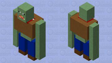 PVZ garganuator Minecraft Mob Skin