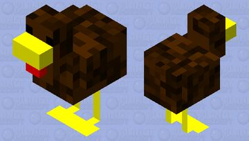 turkey Minecraft Mob Skin
