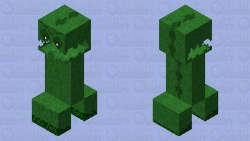 creeper moss (ninth stage)(ver.9) Minecraft Mob Skin