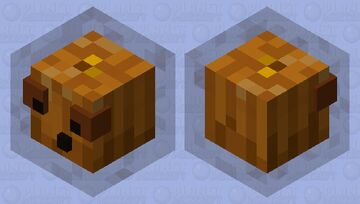 Pumpkin Slime Minecraft Mob Skin