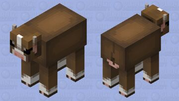 Cow Minecraft Mob Skin