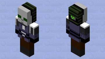 Half-Life 2 Combine Civil Protection Minecraft Mob Skin