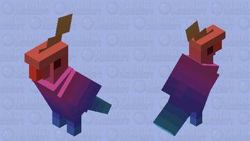 Thermal Heat Minecraft Mob Skin