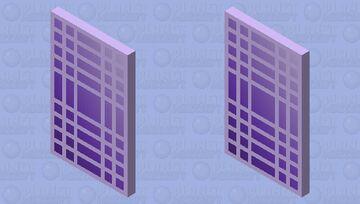 Purple Cape Minecraft Mob Skin