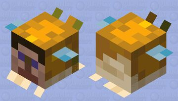 Cursed Pufferfish Medium Minecraft Mob Skin