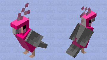 Galah Cockatoo (Mobs Reimagined Entry) Minecraft Mob Skin