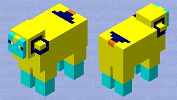 Pokemon Mareep Minecraft Mob Skin
