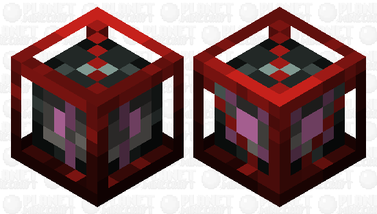 Memory Control Cube Minecraft Skin