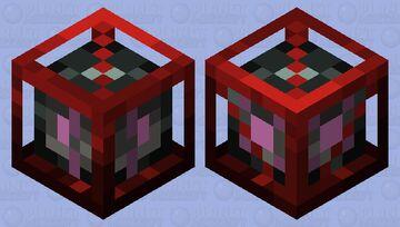 Memory Control Cube Minecraft Mob Skin