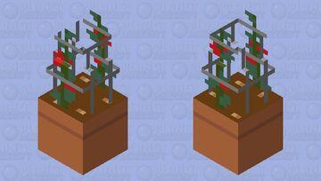 Tomato Plant Minecraft Mob Skin