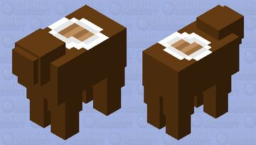 dinner table for one Minecraft Mob Skin