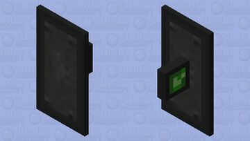 Iskallium Steel Shield Minecraft Mob Skin