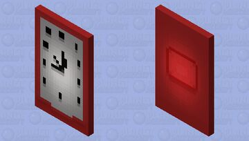 Clock-cloak Minecraft Mob Skin