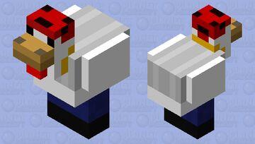 Thug Chicken Minecraft Mob Skin