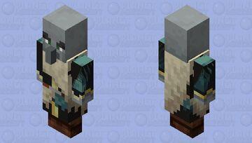 snowy evoker is an idiot Minecraft Mob Skin