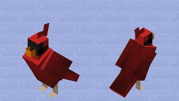 Male Cardinal Minecraft Mob Skin