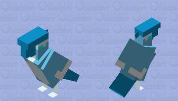 Shiny Galarian Articuno Minecraft Mob Skin