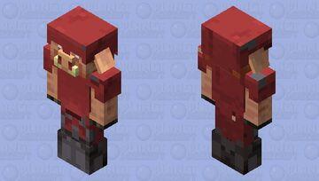 Strider-Armored Piglin Minecraft Mob Skin