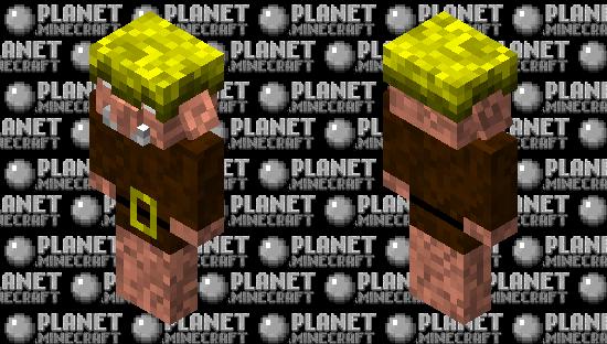 piglin 3 Minecraft Skin