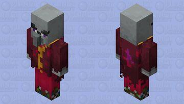 Red-Purple Vindicator Minecraft Mob Skin