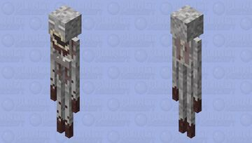 SCP-096 The Shy Guy Minecraft Mob Skin