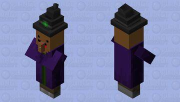 Wizard cacao Minecraft Mob Skin