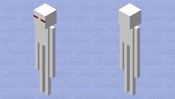 Creepy Enderman Minecraft Mob Skin
