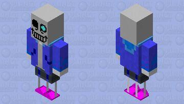 Sans (attempt) Minecraft Mob Skin
