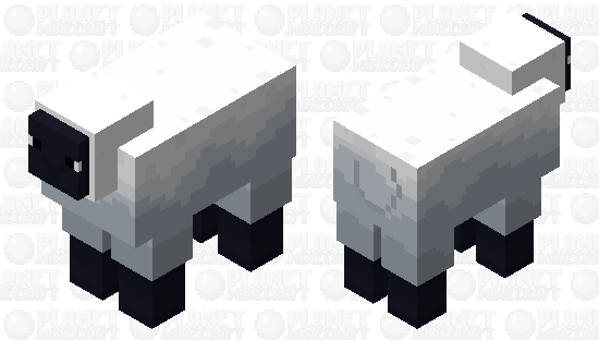 this is a sheep Minecraft Skin