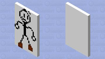 Distract everyone with this cool cape Minecraft Mob Skin