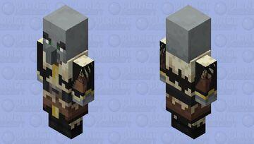 taiga evoker is being tortured Minecraft Mob Skin