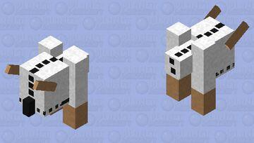 snowmæn monstær Minecraft Mob Skin