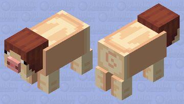Human Pig Minecraft Mob Skin