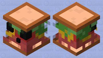 Sandwich Slime Minecraft Mob Skin