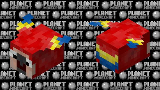 Fat parrot Minecraft Skin